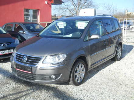 volkswagen TOURAN 2.0 pd tdi highline